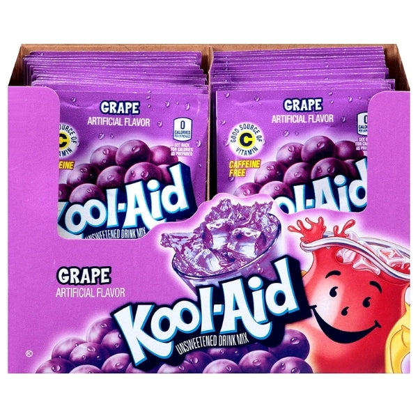 Kool-Aid Drink Mix Grape-48 CT