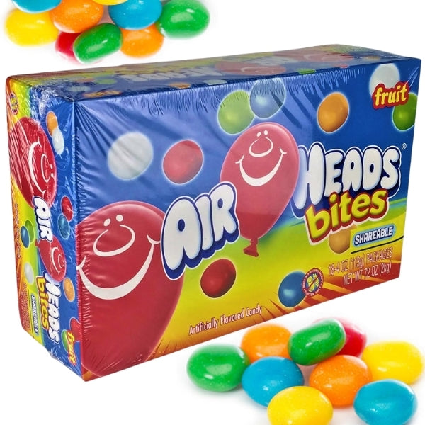 Airheads Bites Fruit Candy 2oz - 18 Pack