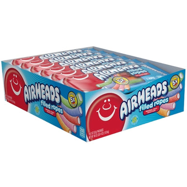 Airheads Filled Ropes Original Fruit 2oz - 18CT