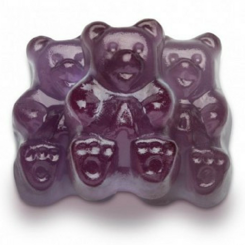 Albanese Grape Gummi Bears Bulk Candy Canada