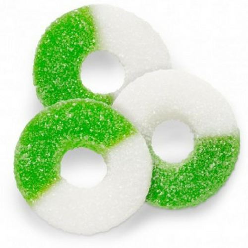 Albanese Gummi Apple Rings Gummy Candy