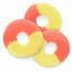 Albanese Gummi Strawberry Banana Rings Gummy Candy