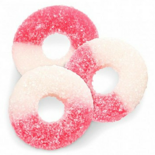 Albanese Gummi Watermelon Rings Gummy Candy