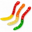 Albanese Large Assorted Fruit Gummi Worms Bulk Candy Canada