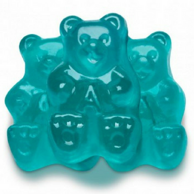 Albanese Light Blue Watermelon Gummi Bears Bulk Candy Toronto