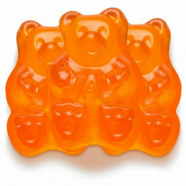 Albanese Orange Gummi Bears Bulk Candy Toronto