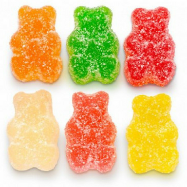 Albanese Sour Assorted Fruit Gummi Bears Gummy Candy