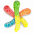 Albanese Sour Mini Neon Gummi Worms Gummy Candy