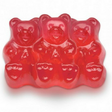 Albanese Strawberry Gummi Bears Bulk Candy Canada