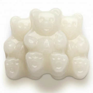 Albanese White Strawberry-Banana Gummi Bears Bulk Candy Toronto