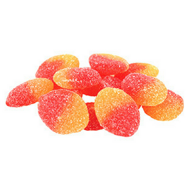 Allan Peach Slices Bulk Candy Canada