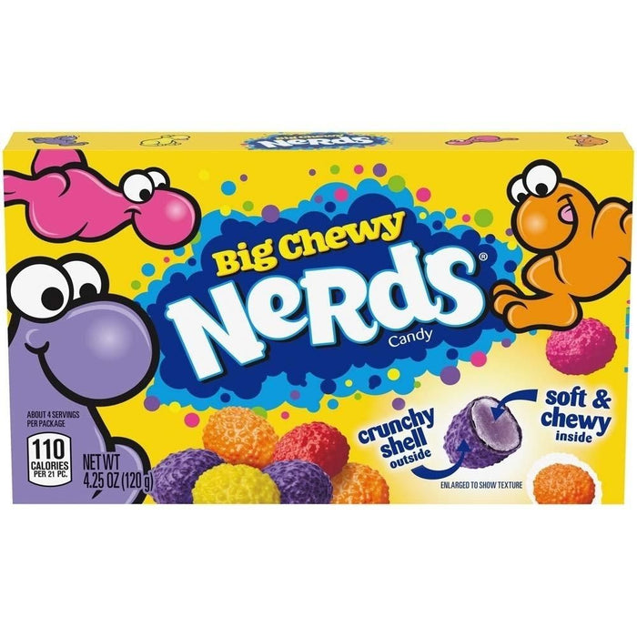 Nerds Big Chewy Theater Packs - 12 CT