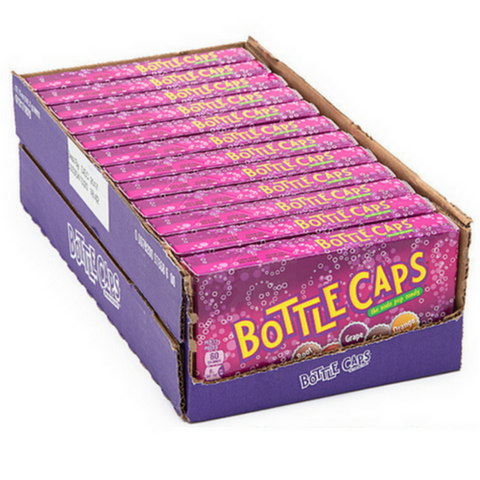 Bottle Caps Candy Theater Box Retro Candy