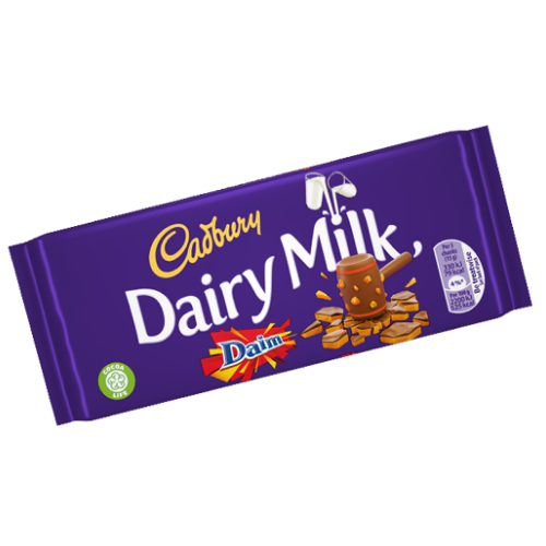 Cadbury Dairy Milk Daim British Chocolate Bars-Wholesale Candy Toronto Canada