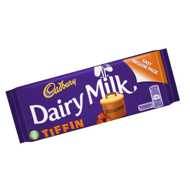 Cadbury Dairy Milk Tiffin UK British Chocolate Bars-Wholesale Candy Toronto Canada