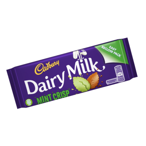 Cadbury Dairy Milk Mint Crisp UK British Chocolate Bars-Wholesale Candy