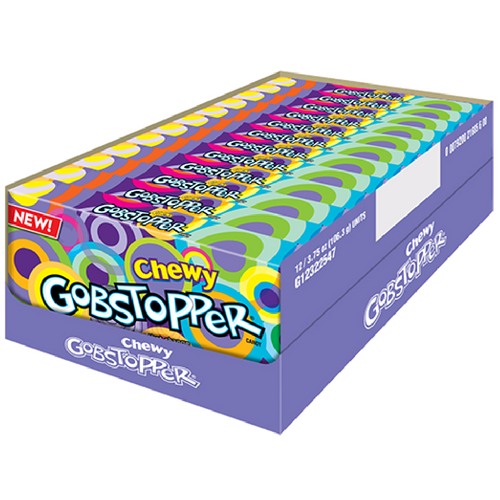 Chewy Gobstopper Jawbreakers Theater Box 12CT Wonka Candy