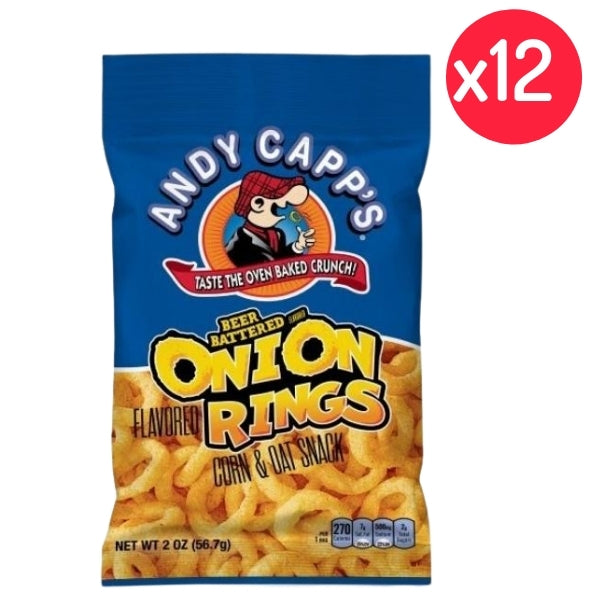 Andy Capp's Beer Battered Onion Rings - 12CT