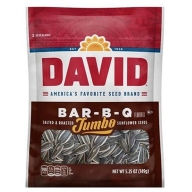 David BAR-B-Q Jumbo Sunflower Seeds | iWholesaleCandy.ca