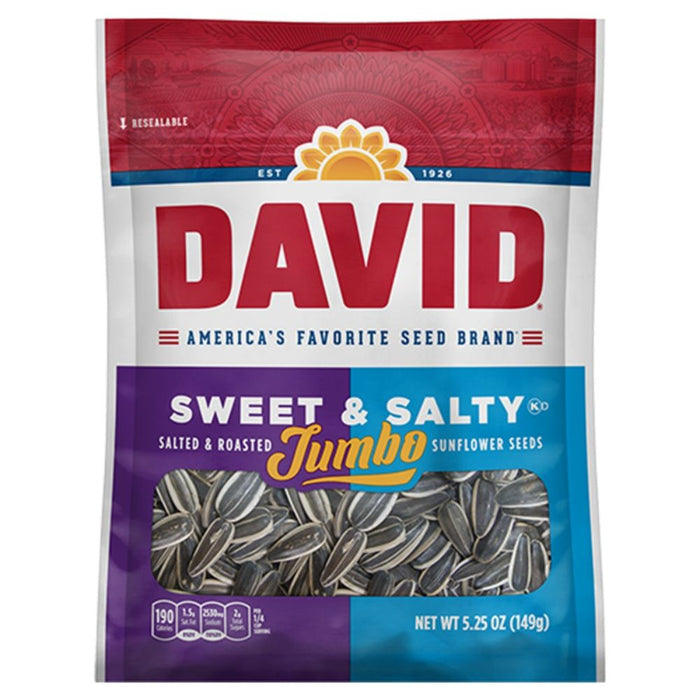 David Sweet & Salty Jumbo Sunflower Seeds | iWholesaleCandy.ca