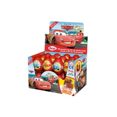 Disney Cars Chocolate Surprise Eggs-24 CT