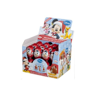 Disney Mickey Christmas Chocolate Surprise Eggs-24 CT