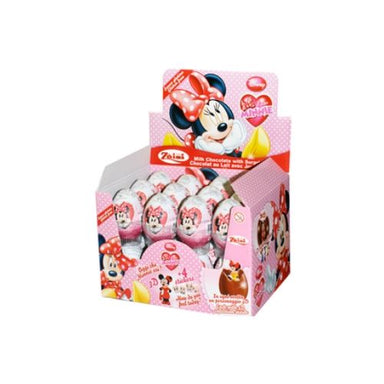 Disney Minnie Mouse Chocolate Surprise Eggs-24 CT