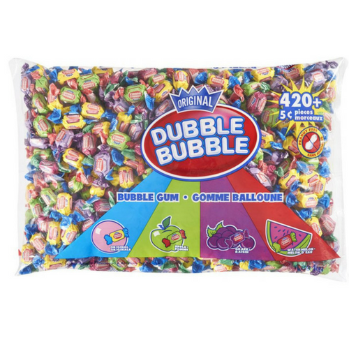Dubble Bubble Twist Gum 420+ Bulk Candy Canada