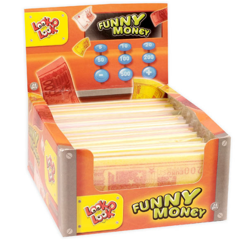 Funny Money Edible Paper Money British Candy