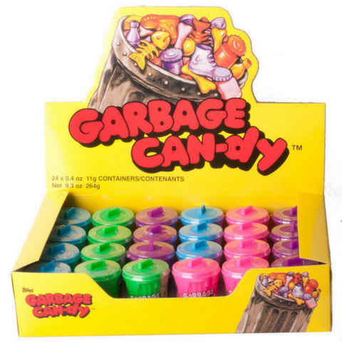 Garbage Can-dy Retro Candy