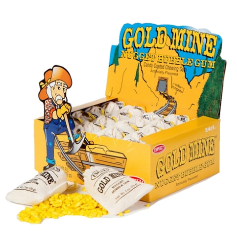 Gold Mine Bubble Gum-Wholesale Candy Canada