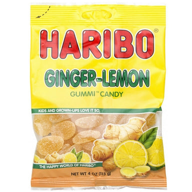 Haribo Ginger-Lemon Gummy Candy