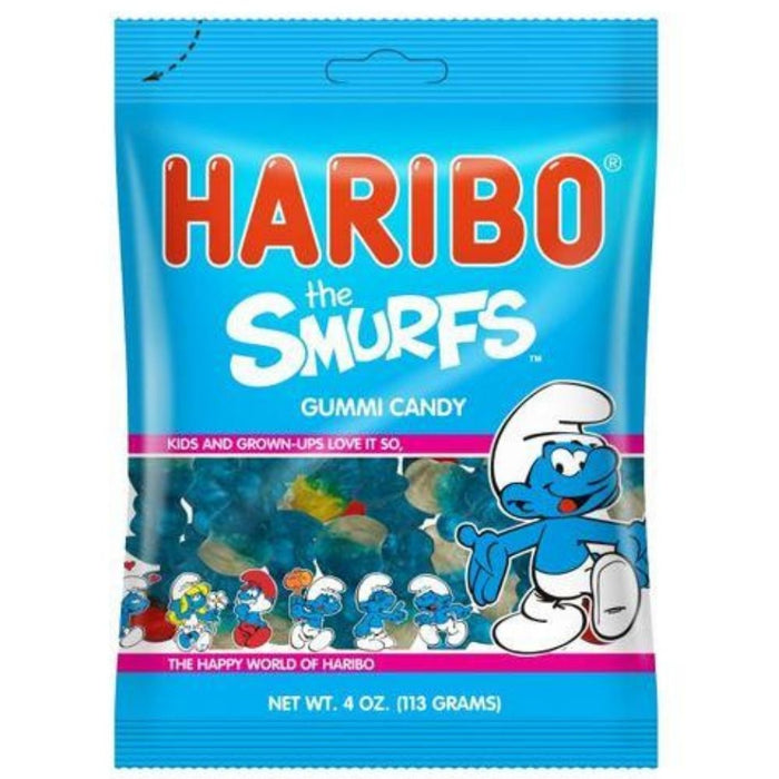 Haribo The Smurfs Gummi Candy - 12 CT