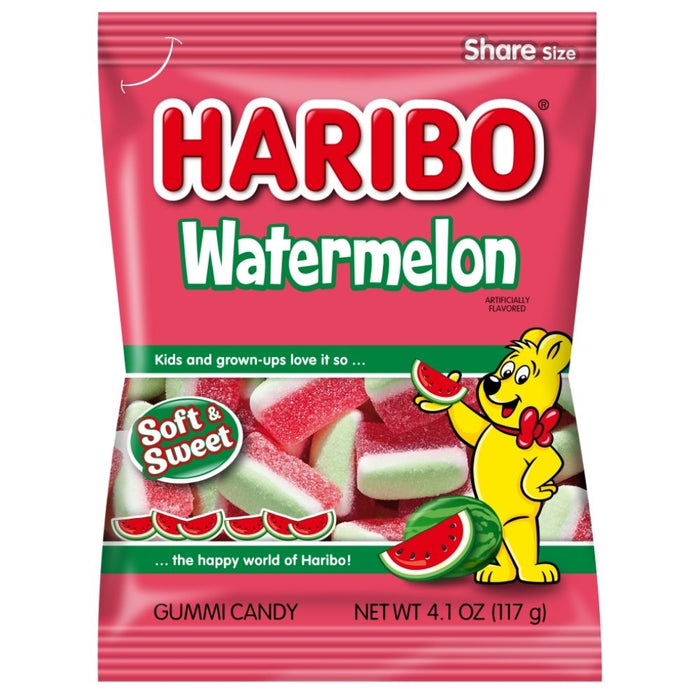Haribo Watermelon Gummi Candy - 12 CT