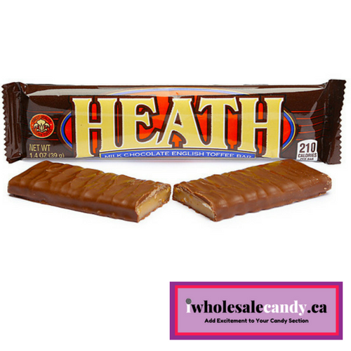 Heath Milk Chocolate English Toffee American Candy Bar
