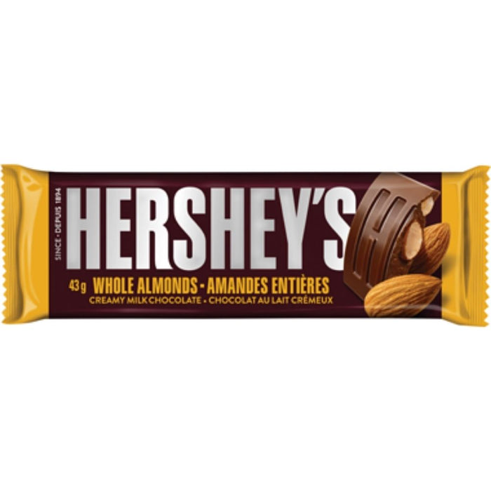 Hersheys Milk Chocolate with Almonds-iWholesaleCandy.ca