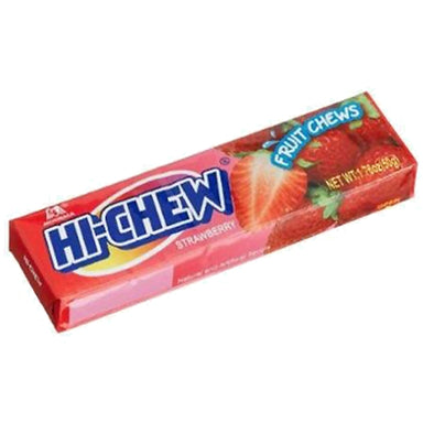 Hi-Chew Strawberry Fruit Chews Wholesale Candy