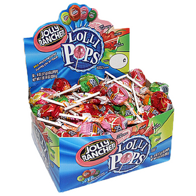 Jolly Rancher Assorted Lollipops Retro Candy at Wholesale Prices