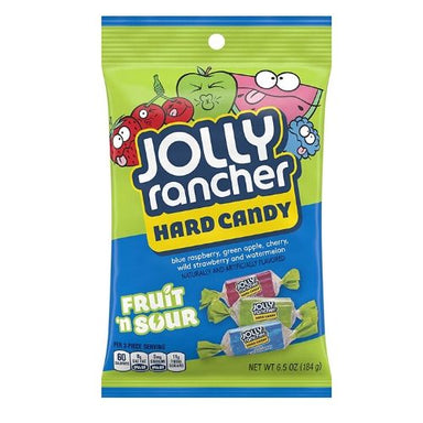Jolly Rancher Fruit N Sour Hard Candy-12 CT