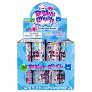 Kidsmania Bubble Crush Bubble Gum Nuggets Soda Cans Wholesale Candy