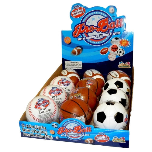 Kidsmania Dubble Bubble Pro Ball-12 CT