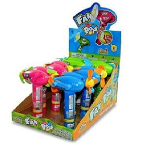 Kidsmania Fan Pop with Lollipops-Wholesale Candy