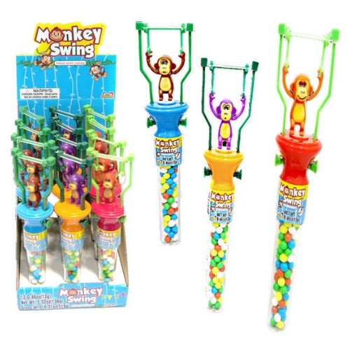 Kidsmania Monkey Swing Toys with Candy-Wholesale Candy
