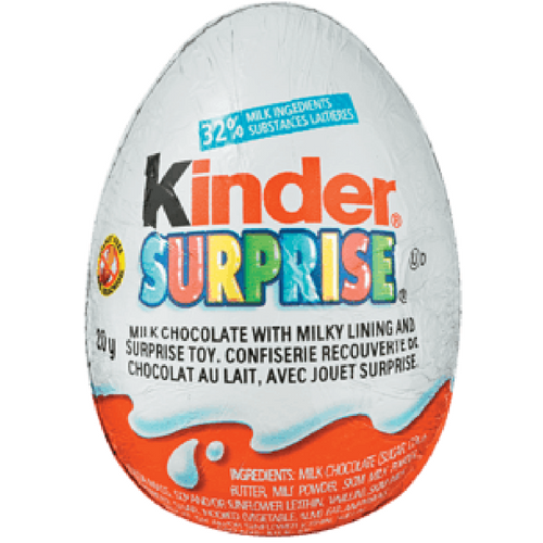 Kinder Surprise Chocolate Surprise Eggs Retro Candy