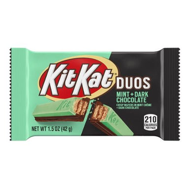 Kit Kat Duos Mint & Dark Chocolate Bars-24 CT