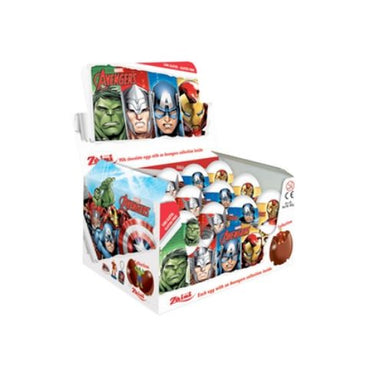 Marvel Avengers Milk Chocolate Surprise Eggs-24 CT