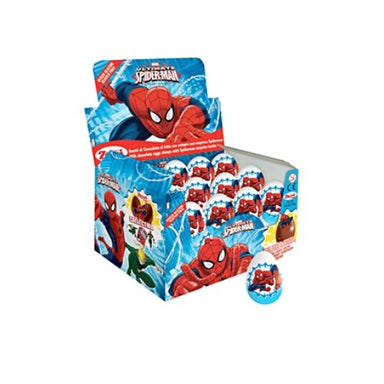Marvel Spiderman Chocolate Surprise Eggs-24 CT