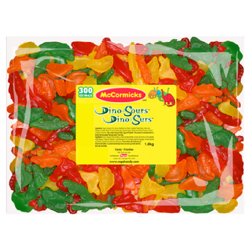 McCormicks Dino Sours Bulk Candy Canada-Old Fashioned Candies