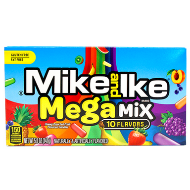 Mike and Ike Mega Mix 10 Flavours Chewy Movie Candy-Wholesale Candy Canada