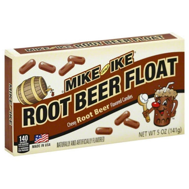 Mike and Ike Root Beer Float Candy Theater Box-12 CT